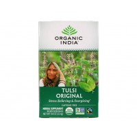Tulsi Holy Basil Tea Original Caffeine-Free 25 Infusion Bags (32 Gram) - Organic India