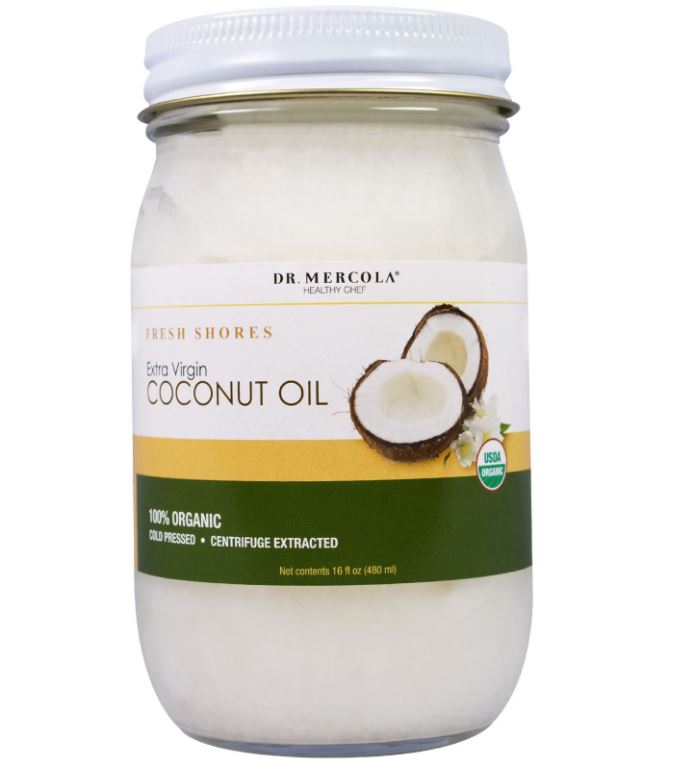Organic Extra Virgin Coconut Oil (480 ml) - Dr. Mercola
