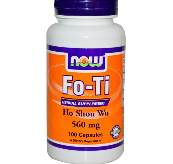 Fo-Ti Ho Shou Wu 560 mg (100 Veggie Caps) - Now Foods