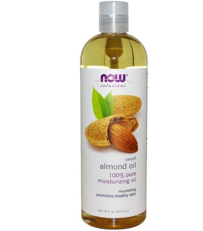 Sweet Almond Oil (473 ml) - Now Foods