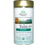 Tulsi Tea Loose Leaf Blend Original Caffeine-Free (100 g) - Organic India