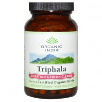 Triphala - Digestion & Colon Cleanse (90 Veggie Caps) - Organic India