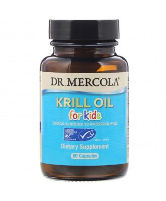 Kids' Krill Oil (60 Capsules) - Dr. Mercola