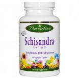 Paradise Herbs, Schisandra, 60 Veggie Caps