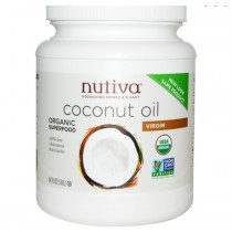 Biologische Virgin Kokosolie (1.6 L) - Nutiva