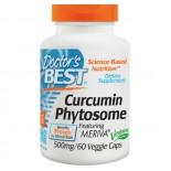 Curcumin Phytosome with Meriva 500 mg (60 Veggie Caps) - Doctor's Best