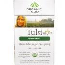 Organic India, Tulsi Holy Basil Tea, Caffeine-Free, Original, 18 Infusion Bags, 1.14 oz (32.4 g)