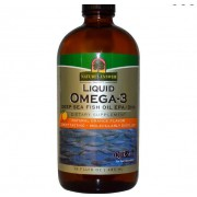 Liquid Omega-3 Deep Sea Fish Oil EPA/DHA Natural Orange Flavor (480 ml) - Nature's Answer