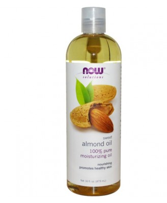 Now Foods, Solutions, Sweet Almond Oil, 8 fl oz (237 ml)