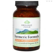 Turmeric Formula - Joint Mobility & Support (90 Veggie Caps) - Organic India