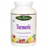 Paradise Herbs, Turmeric, 90 Veggie Caps
